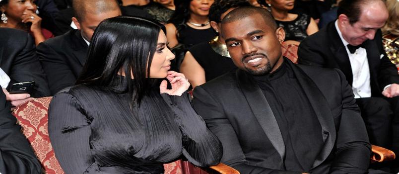 kim-kardashian-kanye- matching couple