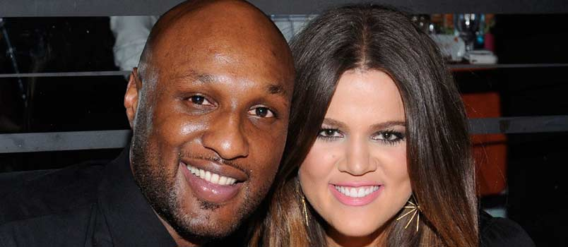 Khloé and Lamar Odom
