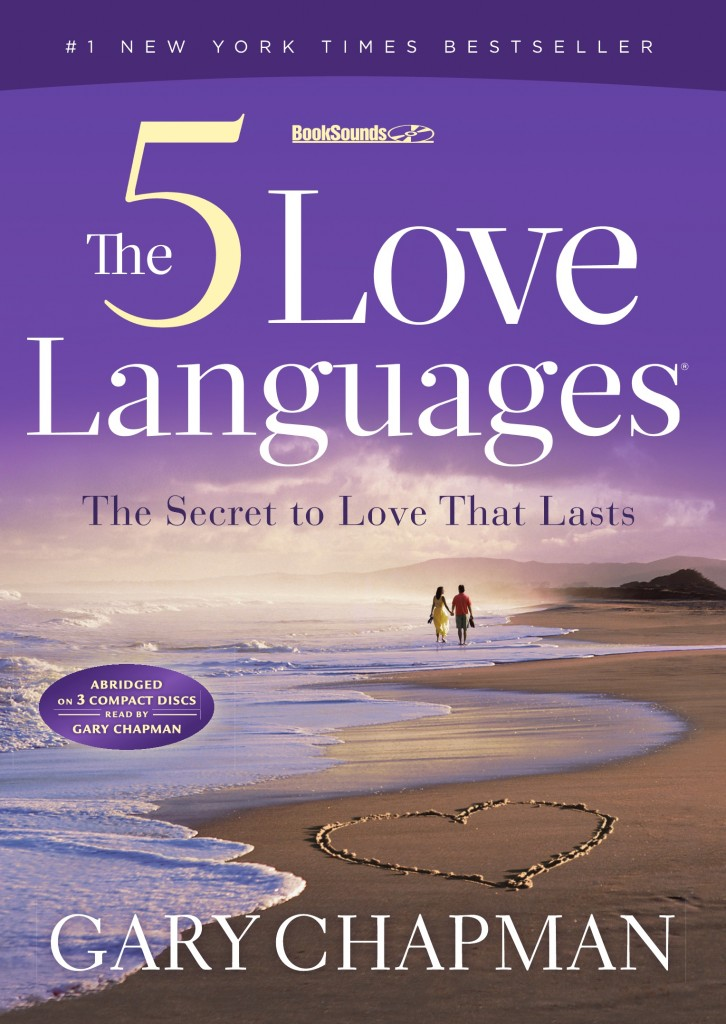 What are the 5 love languages in a marriage?