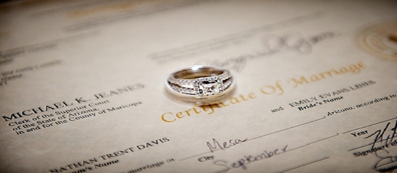 basics of marriage-license