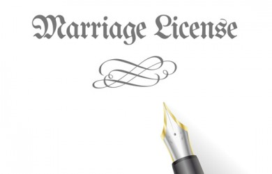 history of marriage license in america