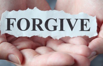 learn to let go and forgive