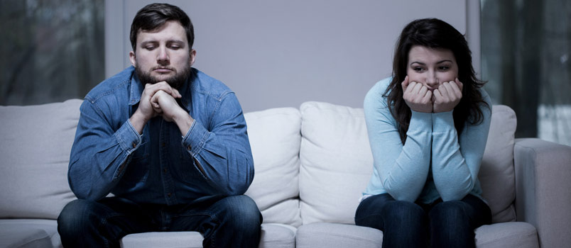 Couples drift apart due to family troubles that they are unable to sort out